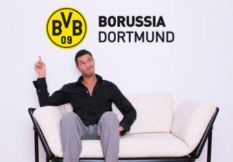 BVB Schriftzug mit Logo