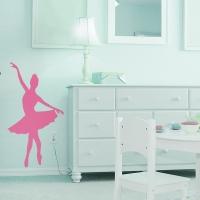Ballerina - Wandtattoo
