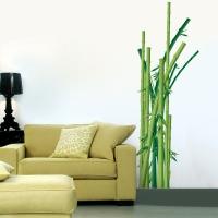 Bambusstangen - Wandsticker