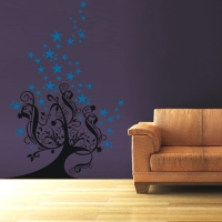 Baum Fantasia - Wandsticker