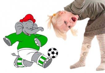 Benjamin als Fußballer