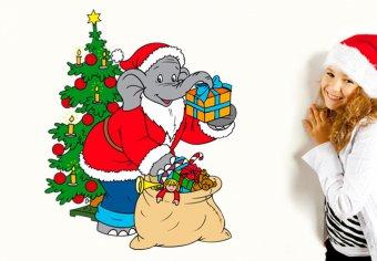 Benjamin als Weihnachtsmann