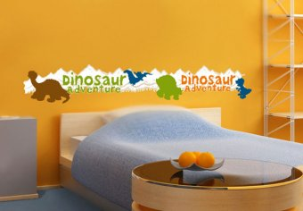 Bordüre Dino Adventure