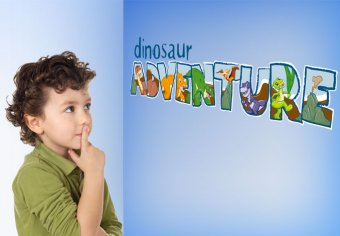 Button Dino Adventure
