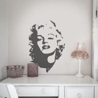Diva Marilyn - Wandtattoos