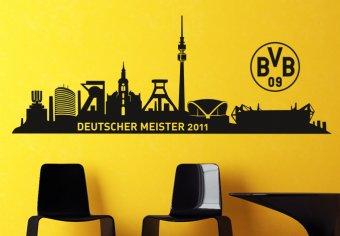 Dortmund Skyline - Deutscher Meister 2011