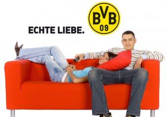 Echte Liebe mit Logo