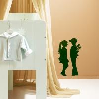Erste Liebe - Wandtattoo