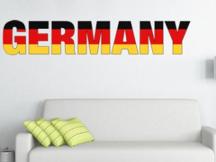 Germany Schriftzug