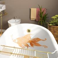 Goldfisch - Wandtattoo