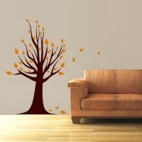 Herbstbaum Eliasl - Wandsticker