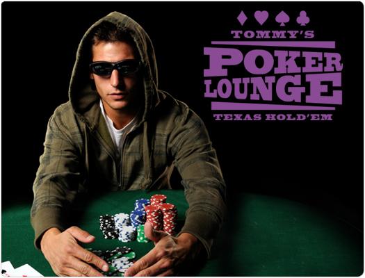 Individuelles Wandtattoo Poker Lounge