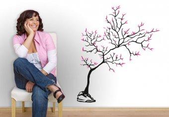 Junger Baum 2-farbig