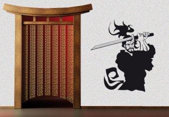 Kämpfender Samurai