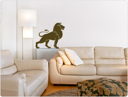 Löwe - Wandtattoo Wandaufkleber