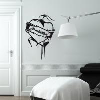 Love&Hate - Wandtattoo