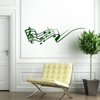 Musik Swing - Wandtattoo