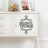 Needful Things - Möbelsticker