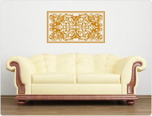 Orient Teppich als Wandtattoo
