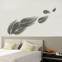 Palmenblätter - Wandtattoo
