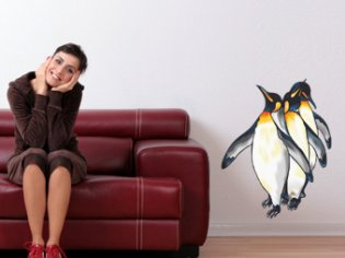Pinguine-farbig