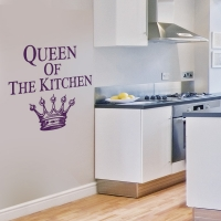 Queen Of The Kitchen - Wandtattoo