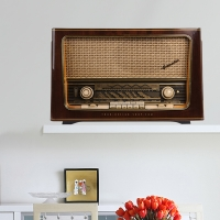 Retro Radio - Wandsticker