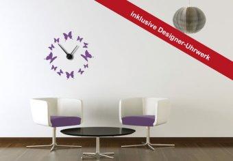 Schmetterlinge Uhr