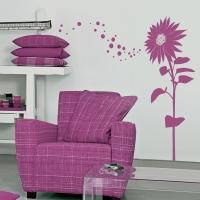 Sonnenblume Estelle - Wandsticker