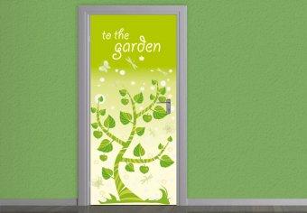 Türdesign Gartentür