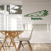 Vegetarier Ludvig - Wandtattoo