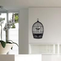 Vogelkäfig - Wandsticker