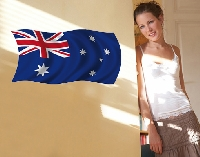 WandTattoo Flag of Australia 1
