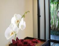 WandTattoo No.178 Orchidee Weiß I