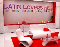 WandTattoo No.238 Latin Lovers Kiss