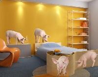 WandTattoo No.271 Schweinchen Set