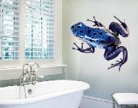 WandTattoo No.282 Blue Frog 2