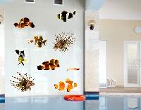 WandTattoo No.392 Tropical Fishes Set Small