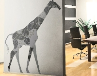 WandTattoo No.396 Black Decostyle Giraffe