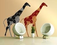 WandTattoo No.399 Two Decostyle Giraffes Set