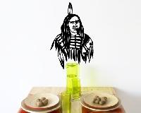 WandTattoo No.432 Indianerkrieger