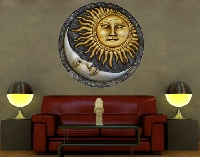 WandTattoo No.459 Sun and Moon