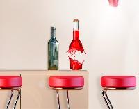 WandTattoo No.497 Saftflasche