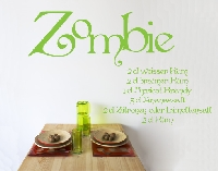 WandTattoo No.713 Zombie