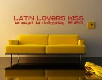 WandTattoo No.787 Latin Lovers Kiss