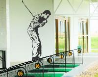 WandTattoo No.807 Sportlicher Golfer