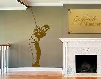 WandTattoo No.810 Golf Spieler