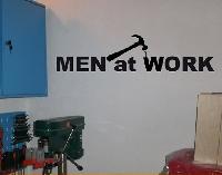 WandTattoo No.BR194 men at work