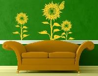 WandTattoo No.IS59 Sonnenblumen