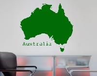WandTattoo No.KP109 Australien